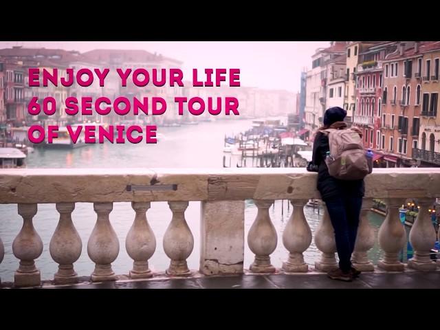 60 sec tour // Venice, Italy