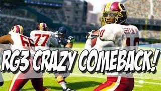 Madden 25 ultimate team - rg3 crazy comeback?! - mut 25