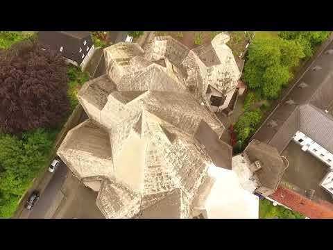 SommerZeit Drohnenflug Neviges