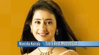 manisha koirala best movies top 5 bollywood films list