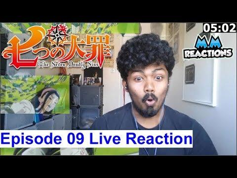 King vs Guila & Tournament!!- The Seven Deadly Sins Episode 09 Live Reaction (Nanatsu no Taizai)