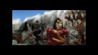 Mega bloks dragons; Fire and ice trailer