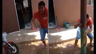 Homem filma o momento em que cerca e mata desafeto em MT