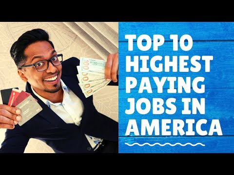 Top 10 High Paying Jobs In America 2019-2020 (Even For International Students) | Ashish Fernando