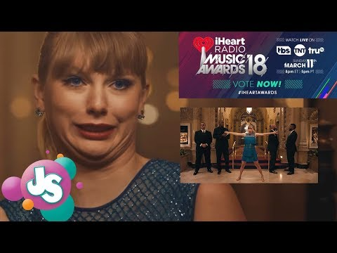 Reactions To Taylor Swift's 'Delicate' Premiere at iHeart Radio's Music And Video Awards | JS