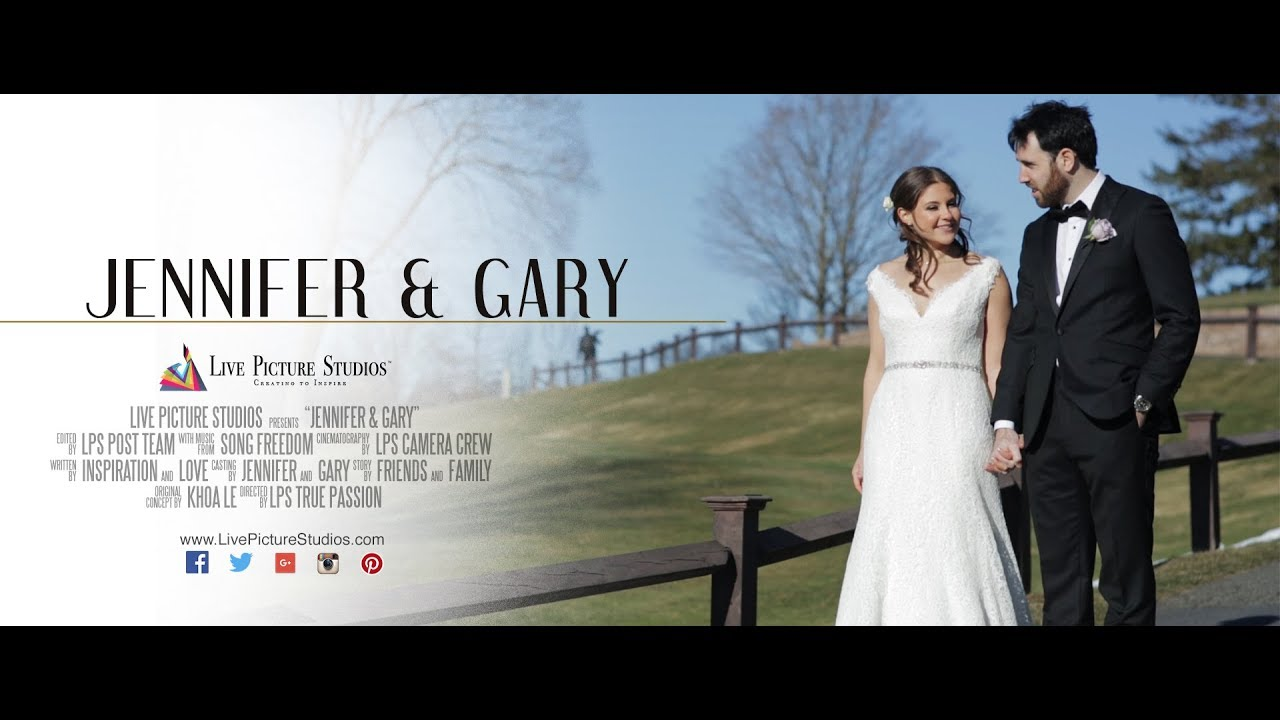 Jennifer and Gary – Wedding Highlight at Brooklake Country Club in ...