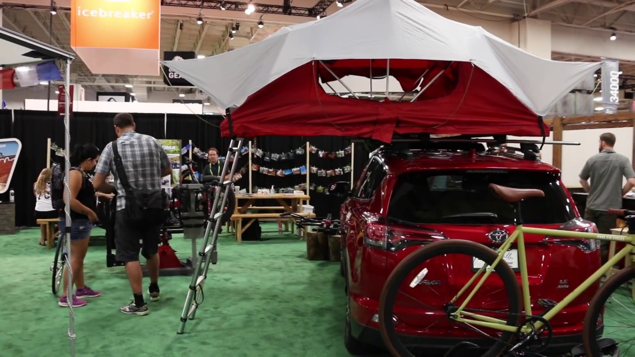 Yakima Sky Rise Roof Top Tent Youtube