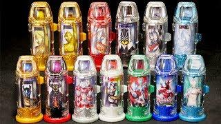 帰ってきた春の動画祭り!ウルトラマンジード 【レア】ウルトラカプセル集+イベント限定キャンペーン等 Ultraman Geed Rare Ultra Capsule Collection