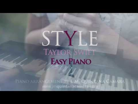 Taylor Swift - Style (Piano Cover | Sheet...