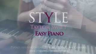 Taylor Swift - Style (Piano Cover | Sheet Music | Partituras)