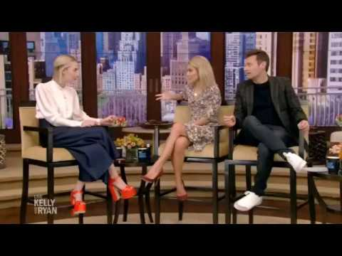 Live With Kelly And Ryan (May 24, 2018) - Saoirse Ronan And Rachel Bloom Interview