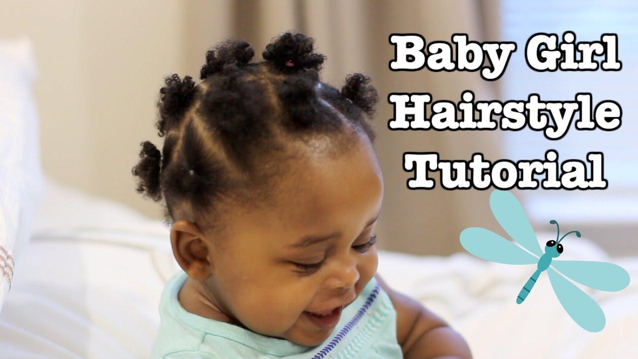 Baby Girl Hairstyle Tutorial Cindy Sandjo Baby Girl Hairstyles Black Baby Girl Hairstyles Baby Girl Hair