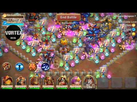 Castle Clash - Insane Dungeons 7-2