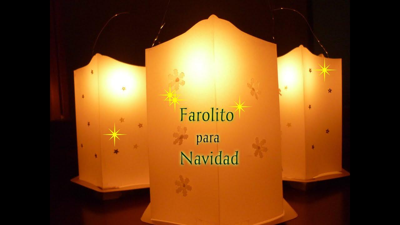 Manualidades para navidad velas para navidad faroles en for Farolillos para velas