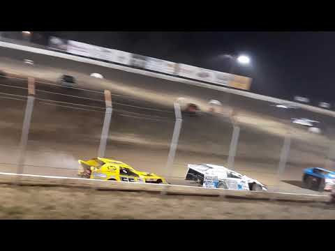 Kenny Wallace heat race at Humboldt speedway