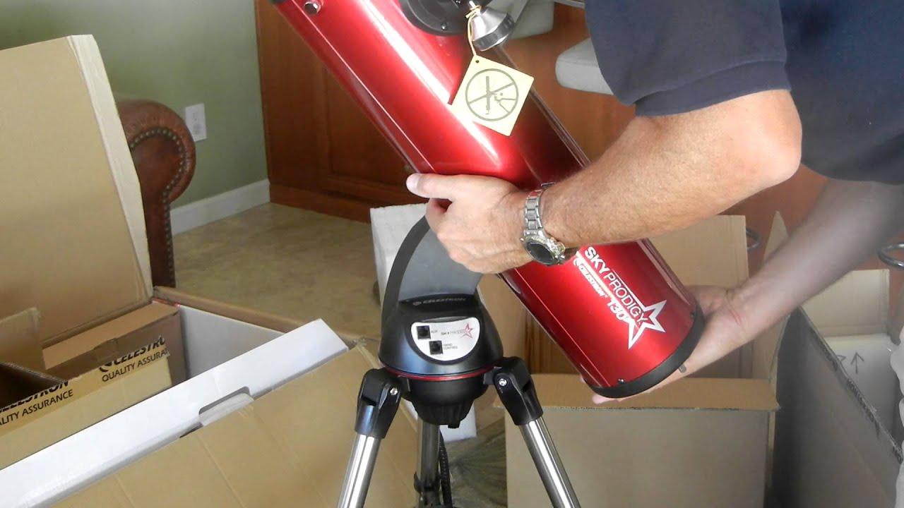 Skyprodigy setup attaching the optical tube youtube
