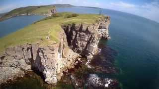 Episode 2 Beautiful Nature Of VLAD VOSTOK Islands FPV Quadcopter Flight Полеты над островами HD