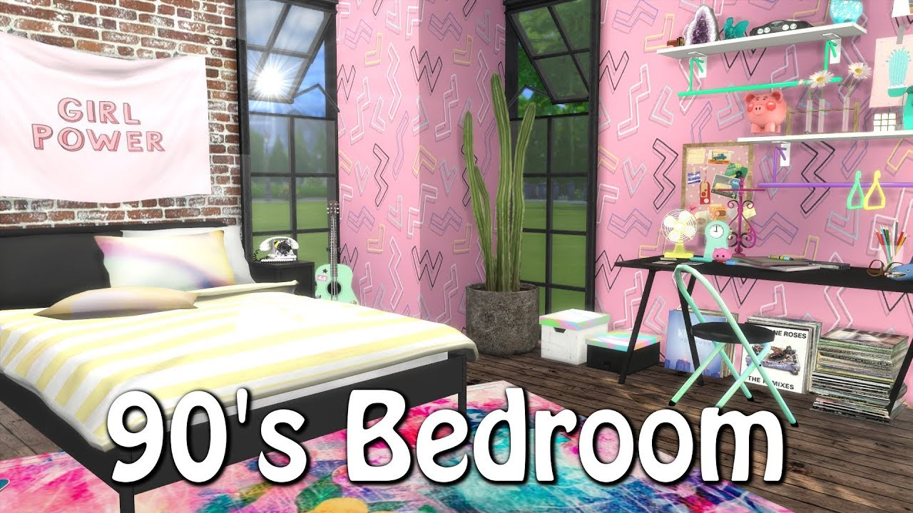 The Sims 4 Sd Build 90 S Bedroom Cc Links