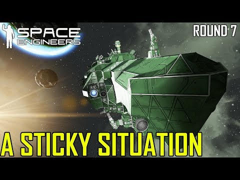 Space Engineers: A Sticky Situation/Spider Style! - PVP SURVIVAL #7 (Multi-PoV)