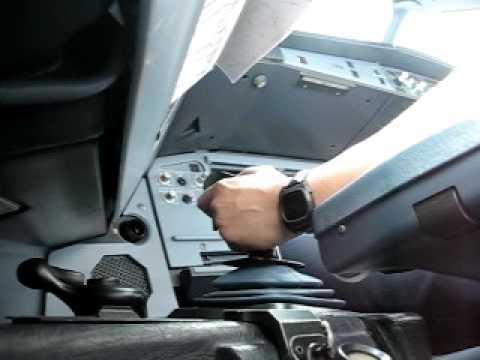 A320 side stick CAPT view #2
