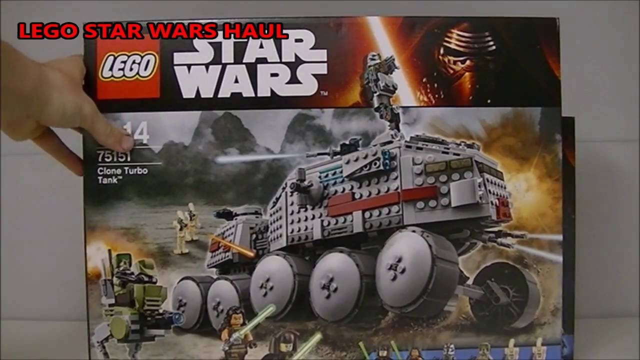 Huge Lego Star Wars Haul New 2016 Summer Sets