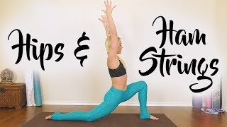 Flexibility Yoga with Krystin ♥ Splits Stretches to Open Hips, Deep Stretch 20 Minute Class