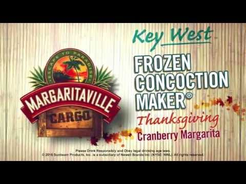 Margaritaville® Key West™ Frozen Concoction Maker® - Thanksgiving Cranberry Margarita