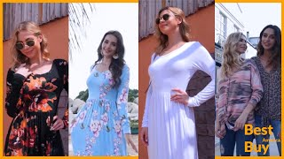 top 10 maxi dresses for woman available on amazon | long maxi dress | amazon maxi dress