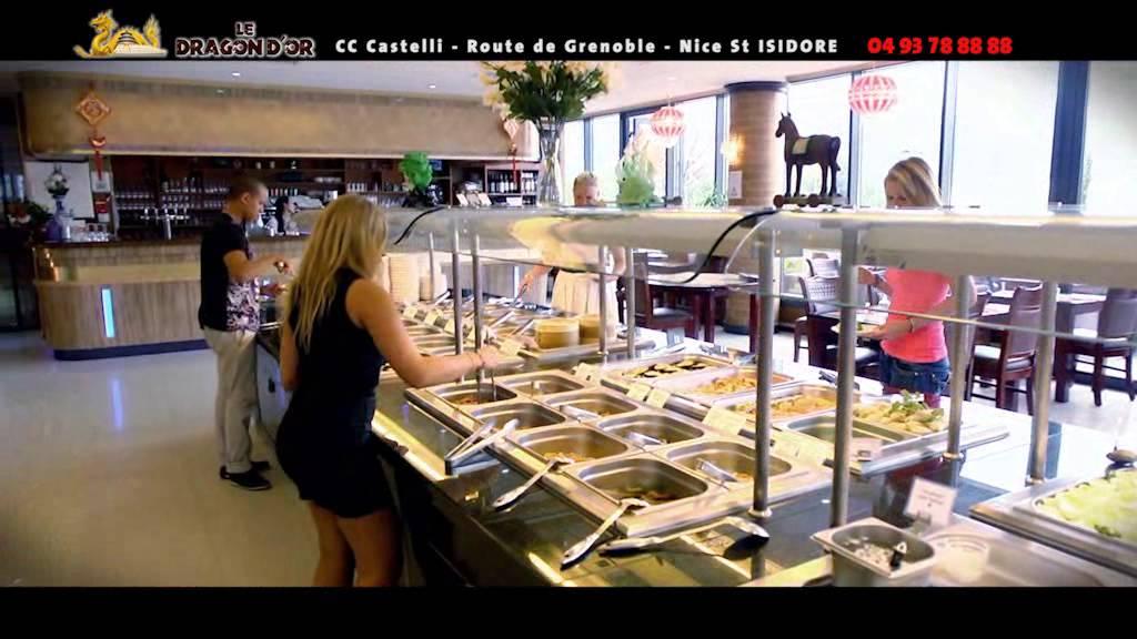 restaurant asiatique le dragon d 39 or nice youtube. Black Bedroom Furniture Sets. Home Design Ideas