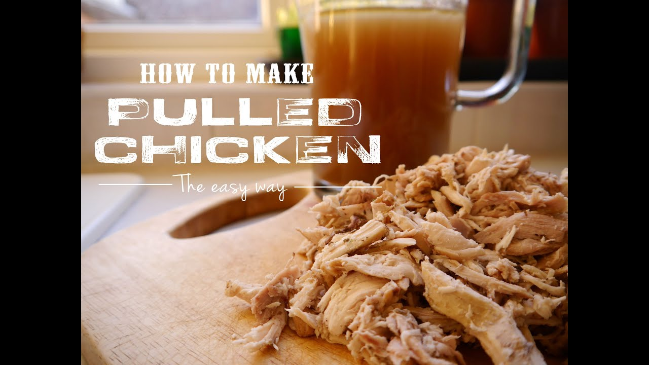 How To Make Pulled Chicken In The Oven  Mi Terruno Food