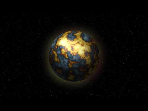 Planet Blow Up Effect Test - YouTube