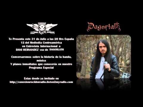 Dagorlath - Entrevista desde Honduras a Dani Hernández por Conexión Rock Radio