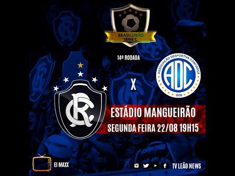 Série C - Clube do Remo 2 X 0 Confiança - JOGO COMPLETO