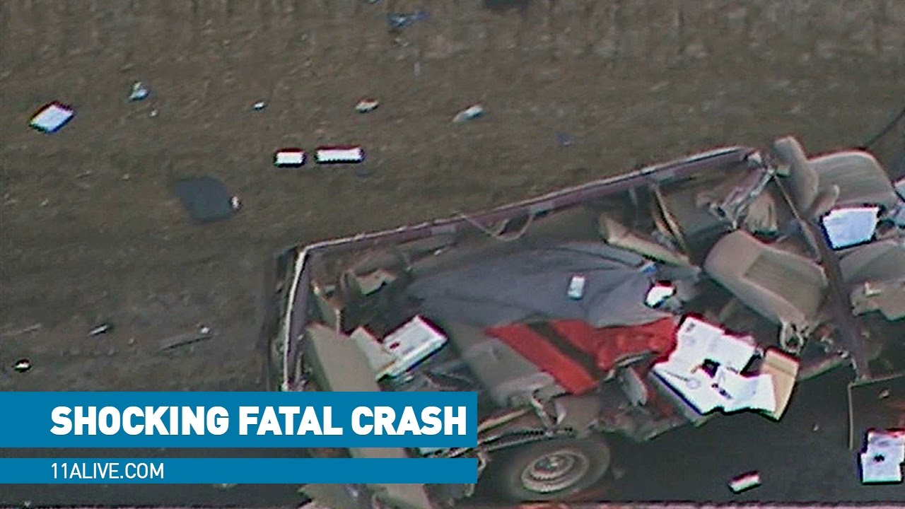 Shocking images show aftermath of fatal Carroll Co  crash