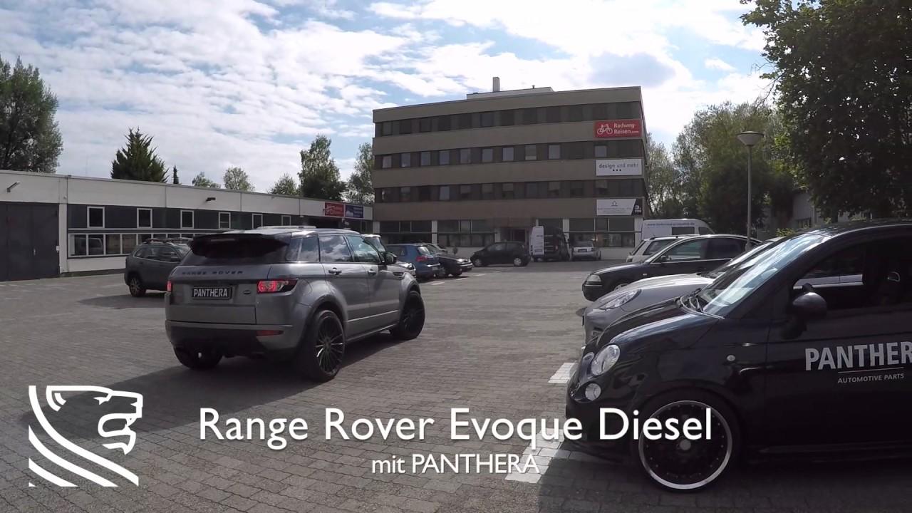 range rover evoque diesel mit v8 sound generator youtube. Black Bedroom Furniture Sets. Home Design Ideas
