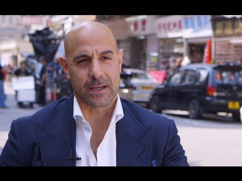 Stanley Tucci Interview - Transformers: Age of Extinction (2014) Movie HD