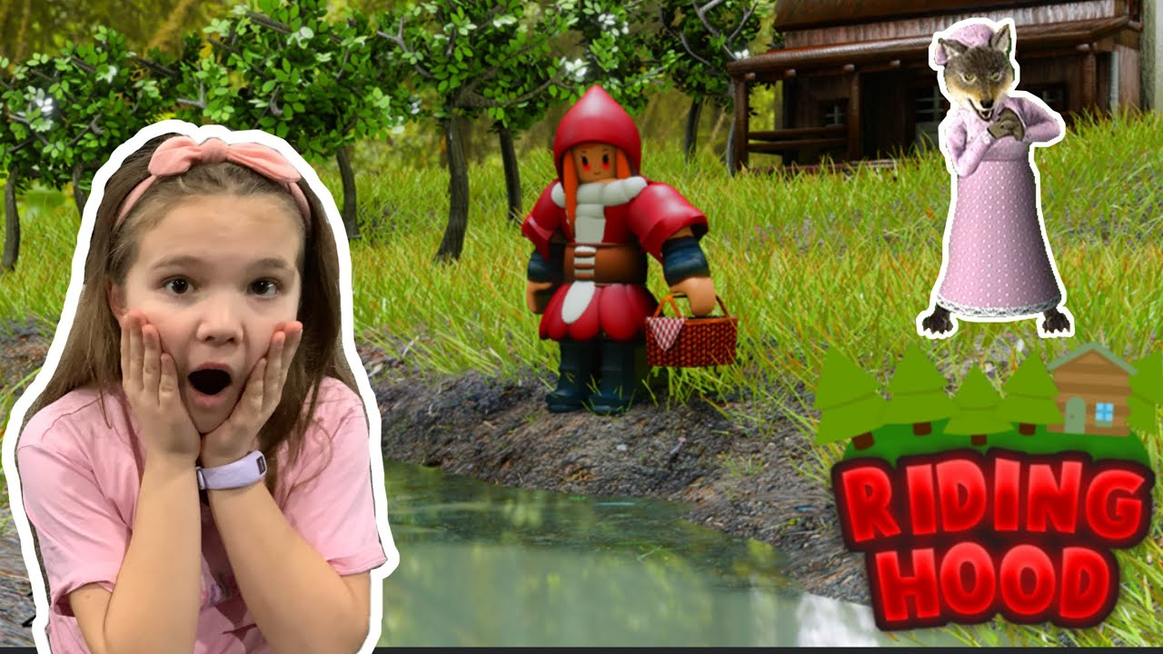 Roblox Riding Hood Scary Story Game Youtube