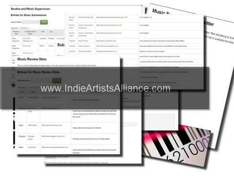 Indie Artists Alliance - Resources for Independent Musicians Mp3