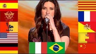 Laura Pausini Cantando en 12 Idiomas