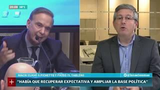 Jorge Liotti: Macri eligió a Pichetto y pateó el tablero