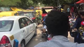New Delhi, India Tuk-Tuk Traffic Accident, July 19, 2015