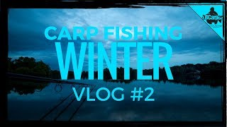 CARP FISHING IN WINTER THE PARK LAKE VLOG #2 😀