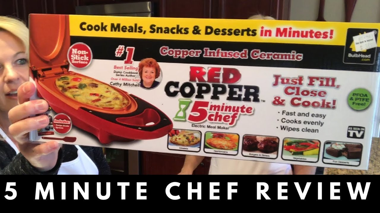 Red Copper 5 Minute Chef Review Youtube