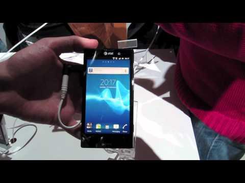 Análisis previo del Sony Xperia Ion en español | goponygo.com