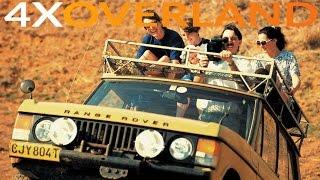 Driving steep slopes, building our 4x4 truck, Kalahari magic. 4WD-1, Ep3.