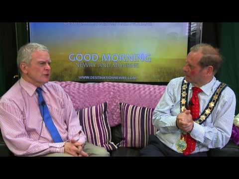 DNTV - Rowan Hand interviews Lord Mayor John McArdle