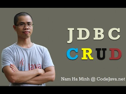 Java JDBC CRUD Tutorial: SQL Insert, Select, Update, and Delete Examples