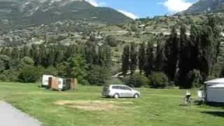 Uitzicht vanaf camping Muhleye