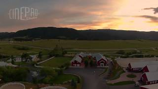 Denver Wedding Aerial Videographer | Crooked Willow Farms Larkspur Colorado