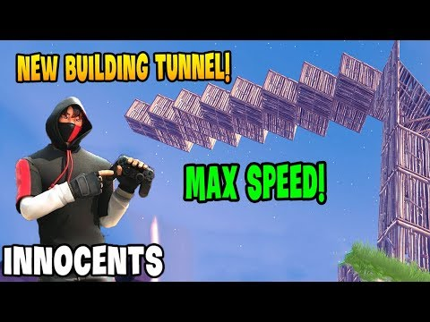 Innocents Controller Shows NEW Building Tunnel *Max Speed* | GodLike Fortnite